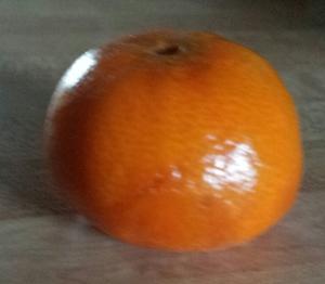 clean orange